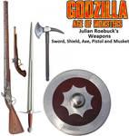 Godzilla Age of Monsters: Julian Roebuck's Weapons