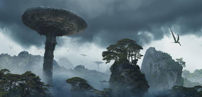 Age of Kong Environment Concept 004