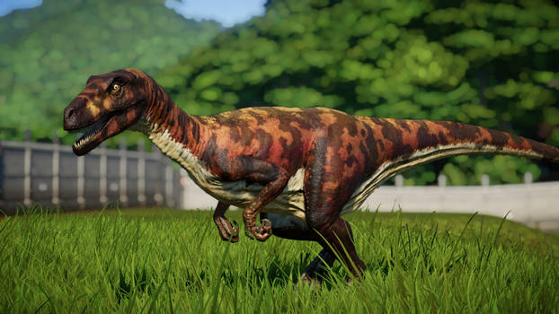 Jurassic World Evolution Herrerasaurus JP 1993