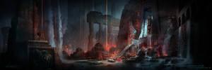 Atlantis Temple Concept Art