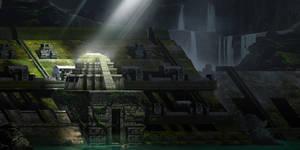 Maya Underground Temple