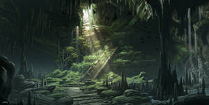 Mayan Temple Cave