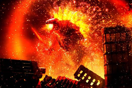SHMA Burning Godzilla 2019