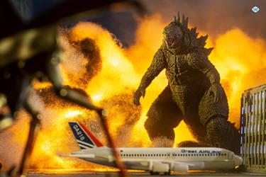 SHMA Godzilla 2014 Arrived
