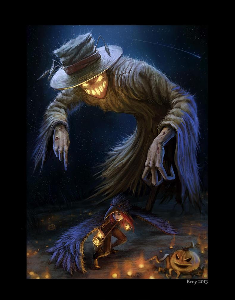 scarecrow by Kroy111 on DeviantArt