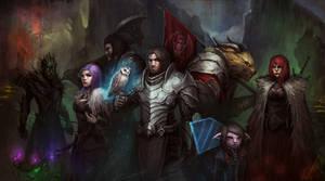 fanart of guild wars