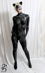 Catwoman Body Paint Preview