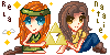 Rela and Natalie Icon Commission by windexter