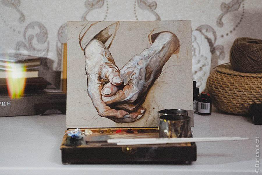 Hands by Buridanscat