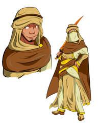 Zulfaqir, the Red Sword by blaqueandstuff