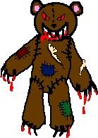 Jennifer the Evil Teddy Bear by ImaginaryParadox