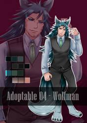 [CLOSED] Adoptable 04 - Wolfman - Set price -