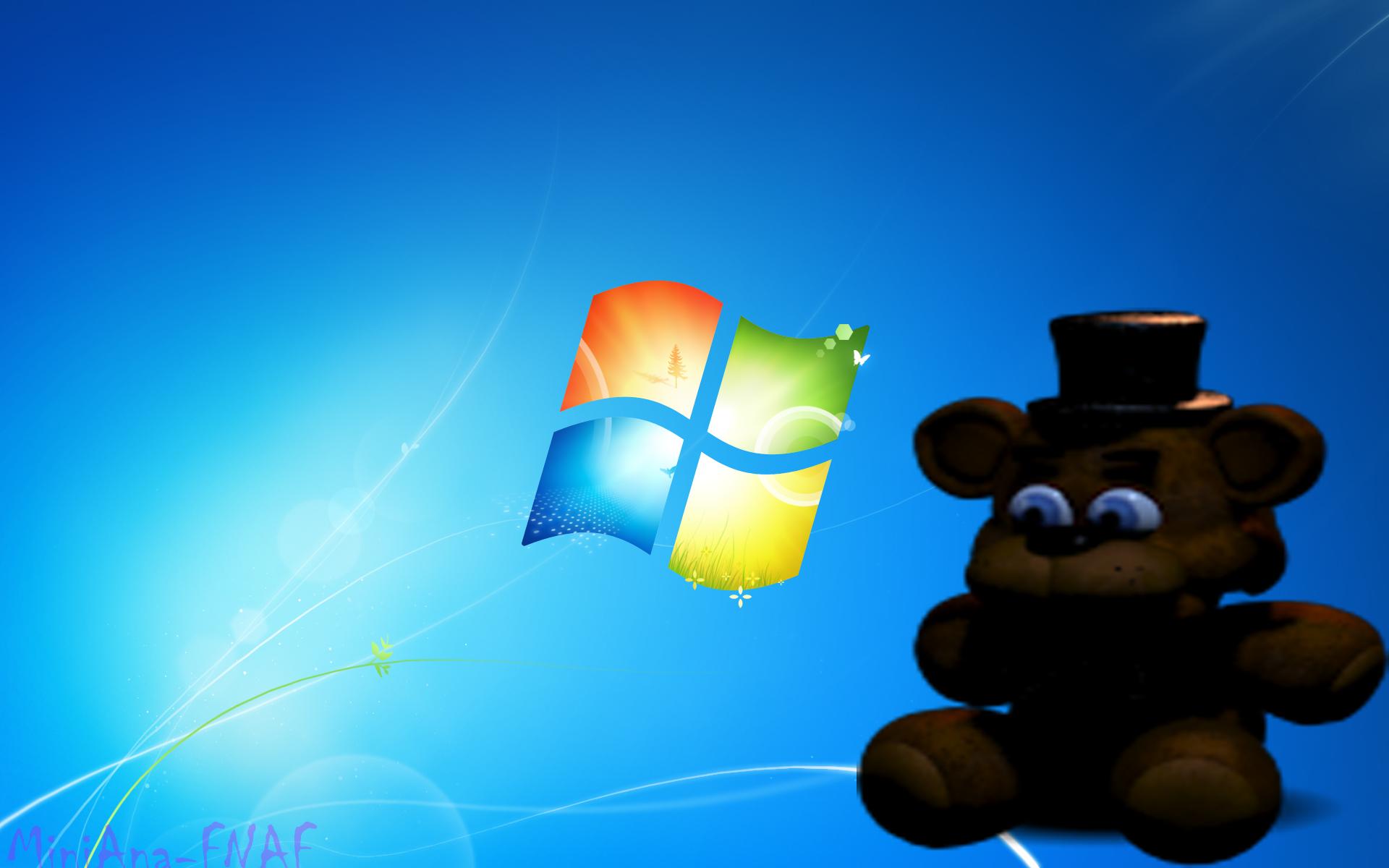 Fnaf Wallpaper Freddy Doll Windows 7 By Loto Toxico On