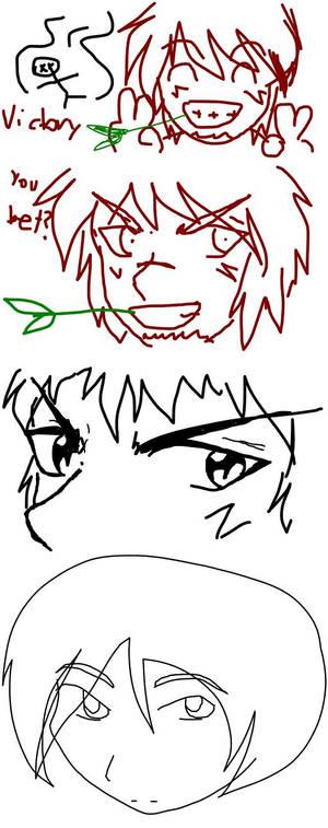 Mahrahia and Tasui doodles