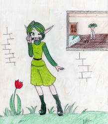 Saria is a perv