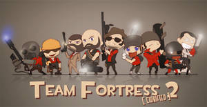 Team Fortress 2 Chibified by CrimsonZig