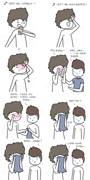 One Direction - Larry by milamint on DeviantArt