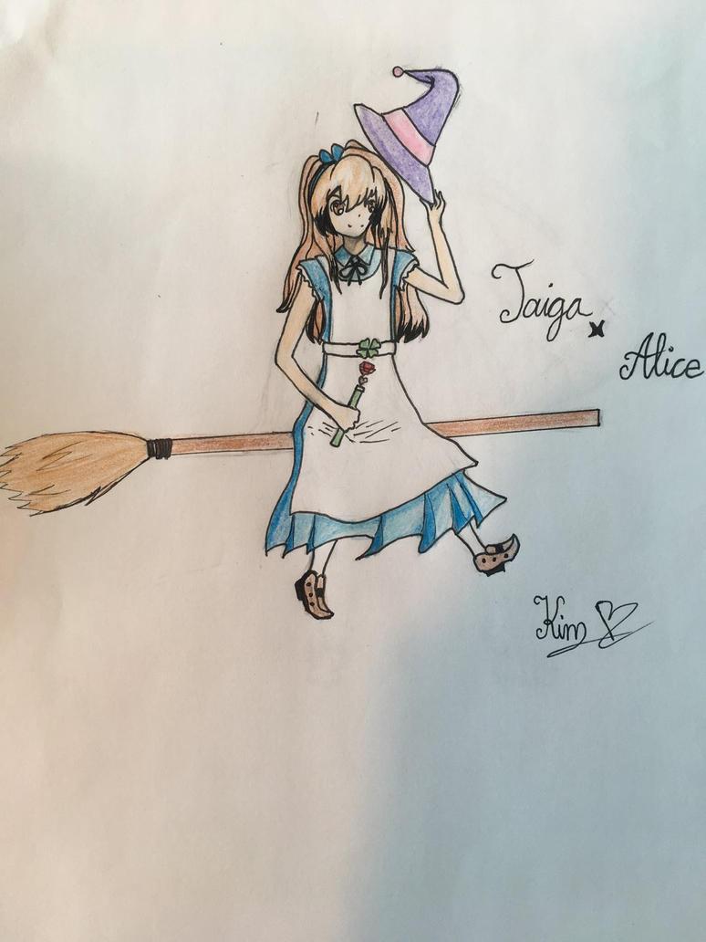 Request: Ticker360 Taiga x Alice done! by kimchi-Tea