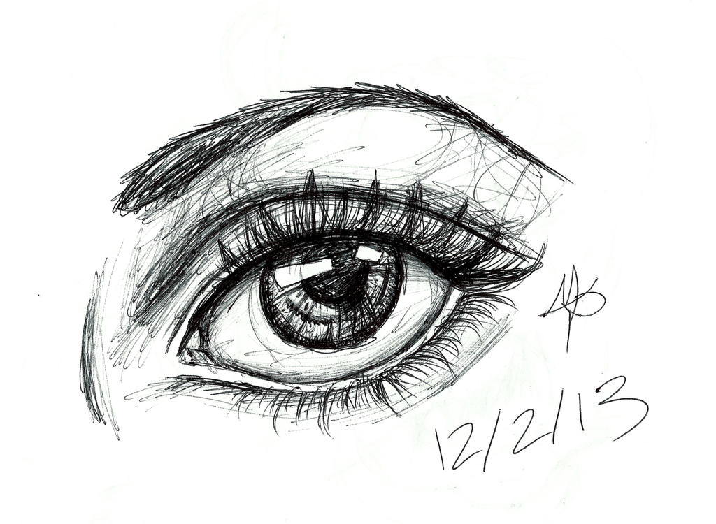 Ink Drawings Of Eyes | Www.pixshark.com - Images Galleries With A Bite!