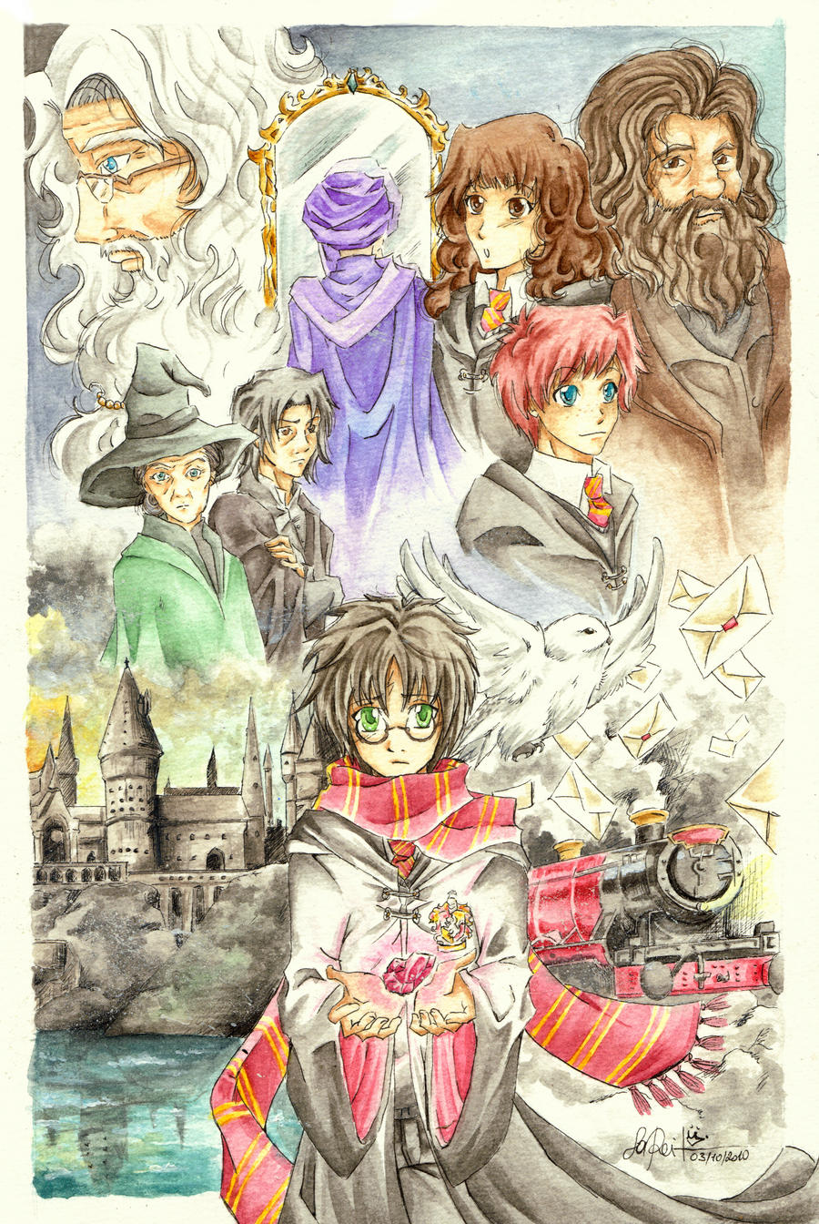 _HP:the sorcerer's stone_ by Aeris1990