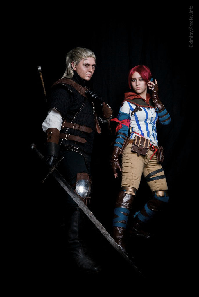 The Witcher 2 cosplay by Gabardin