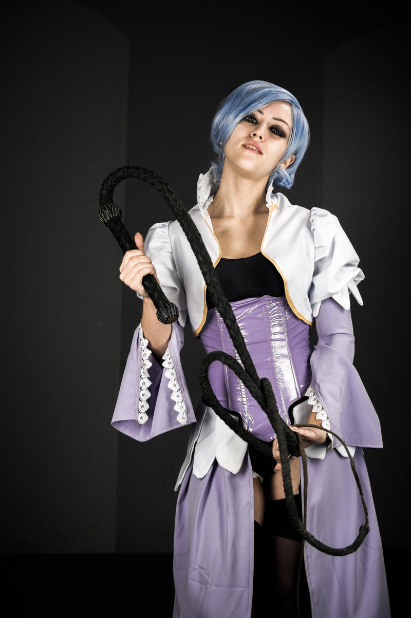 butler angela cosplay Black