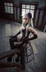 Kuroshitsuji Hannah Anaferoozu cosplay