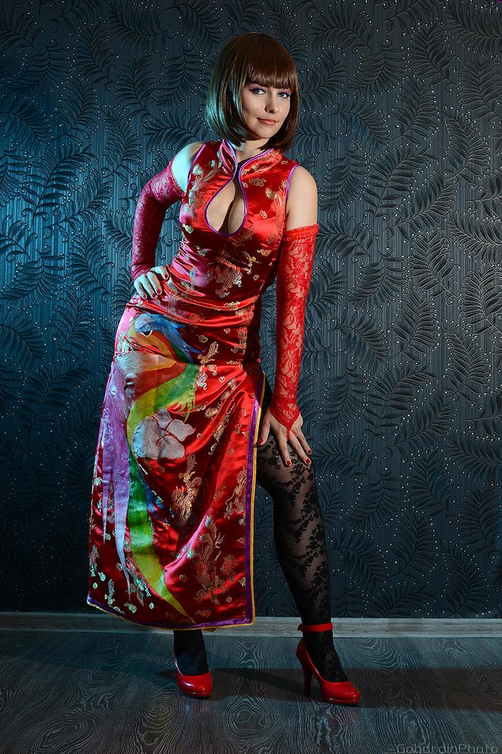 anna williams tekken 6 cosplaygabardin on deviantart