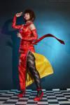 Anna Williams Tekken 6 cosplay