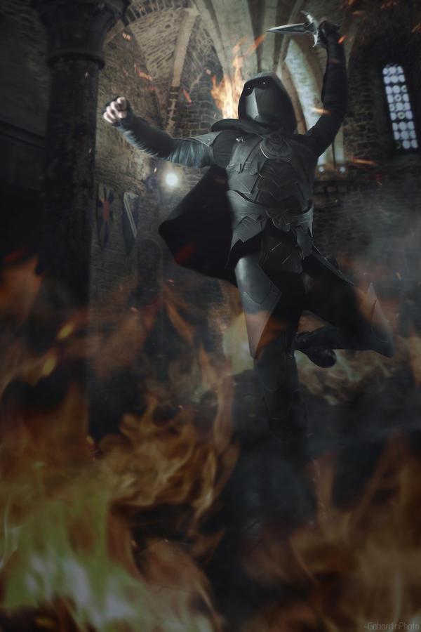 The Elder Scrolls V Skyrim Dragonborn cosplay by Gabardin