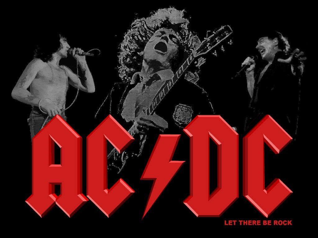 ACDC Poster by DarkWolf12
