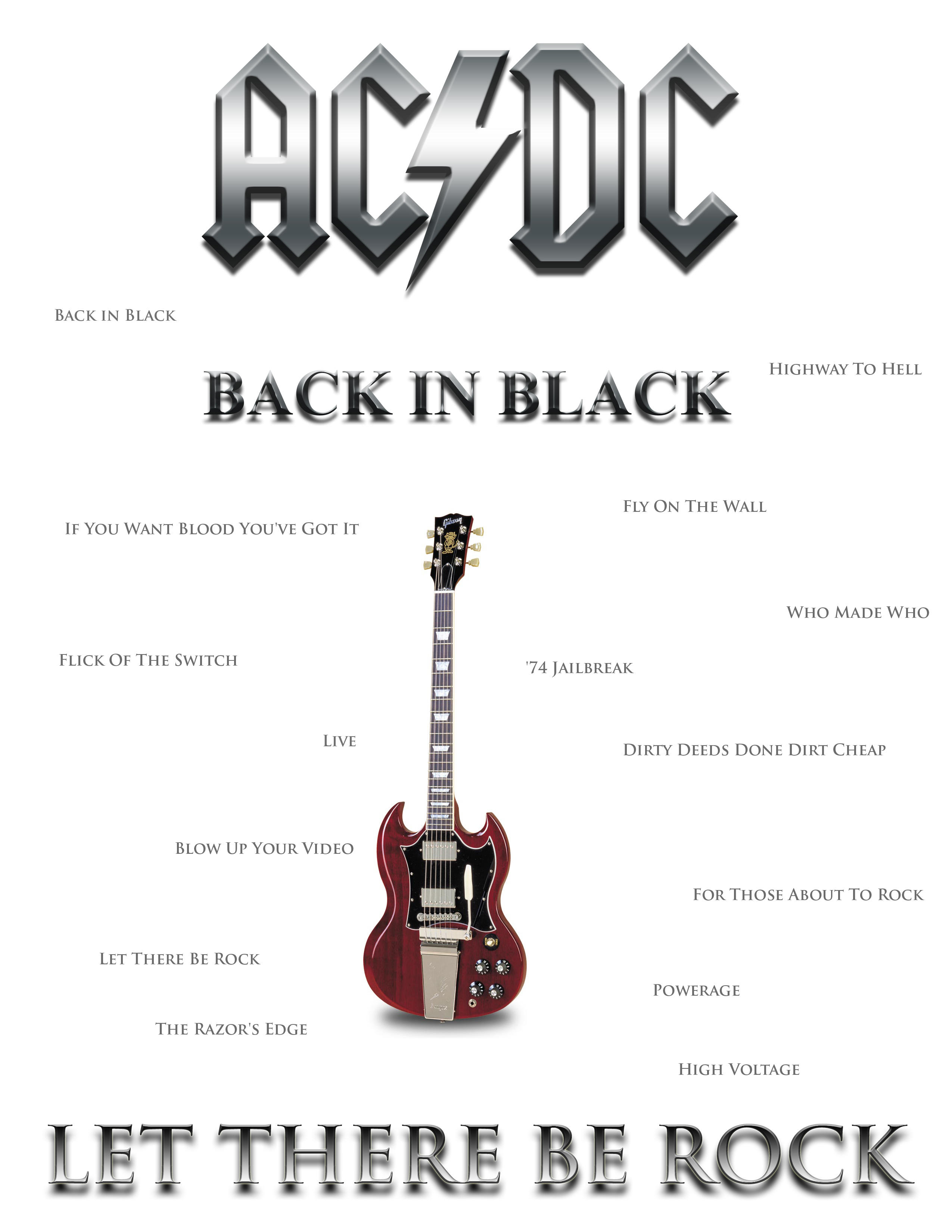 Another ACDC Poster by DarkWolf12