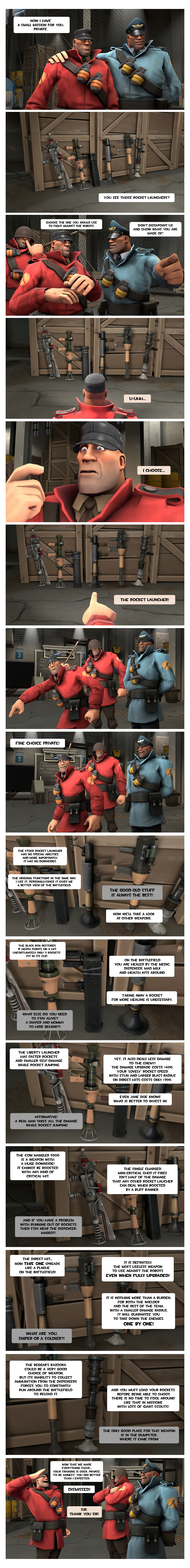 Strict Soldier's guide for MvM: Soldier (part 3) by Menaria