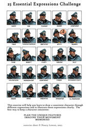 25 Essential Expressions Challenge by Menaria