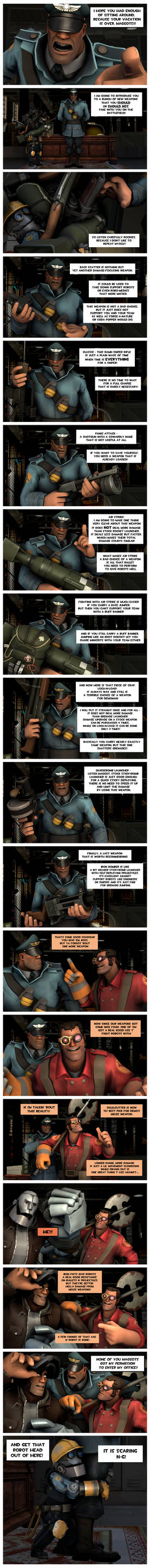 Strict Soldier's guide for MvM: Weapons