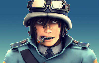 Commander Sabs portrait by Menaria