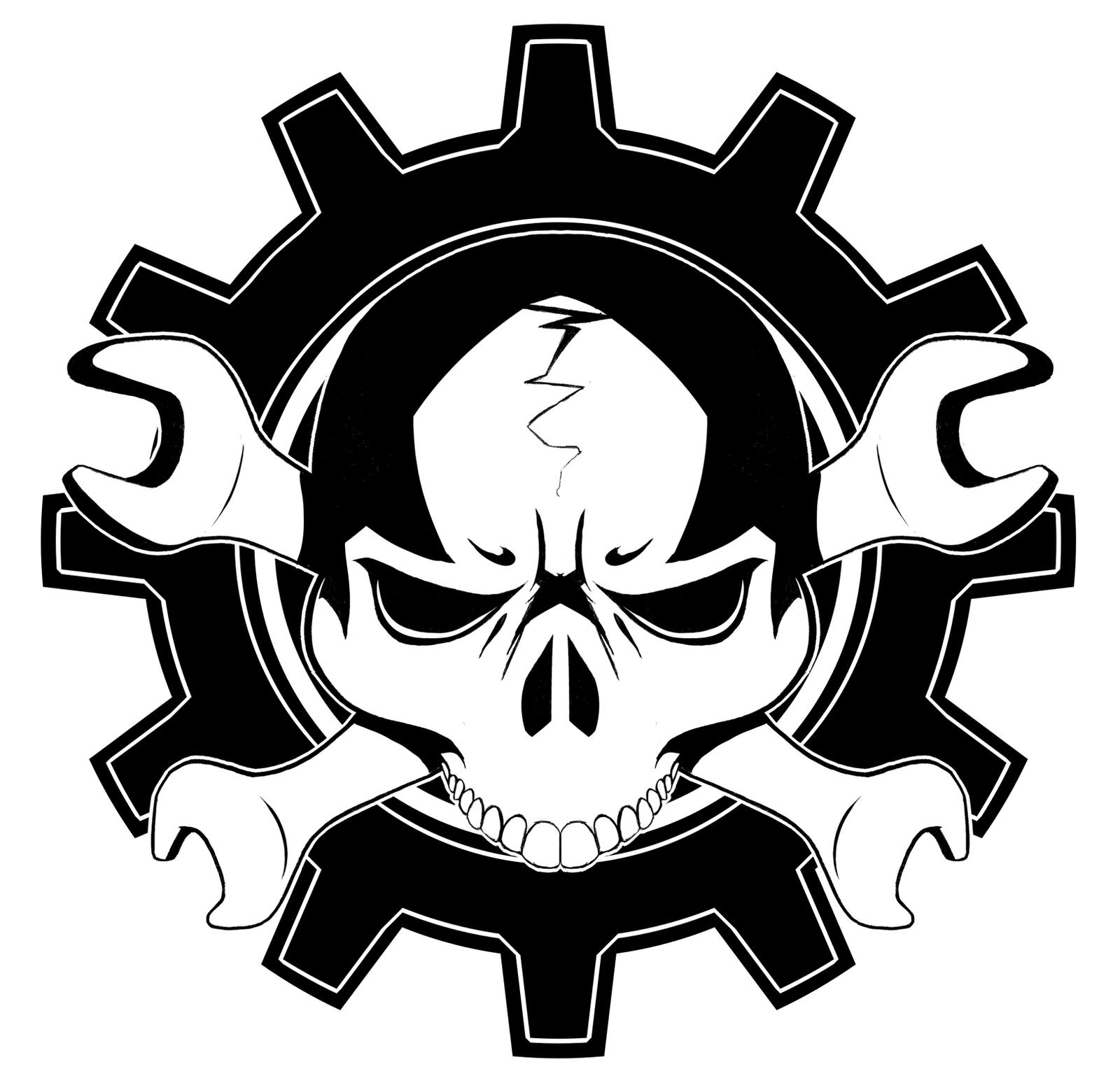 Commission: Mechanic logo by Menaria on DeviantArt