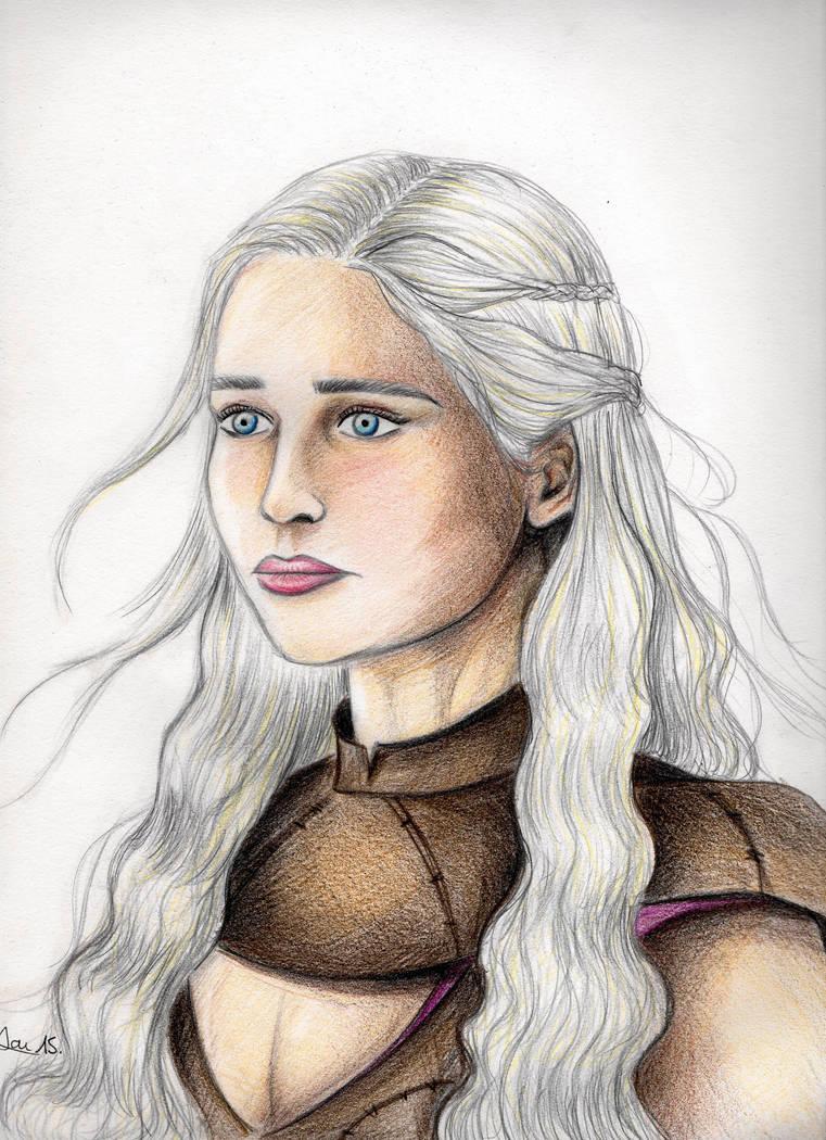 Daenerys Targaryen by Shyrenn