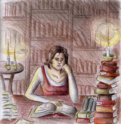 Library by Shyrenn