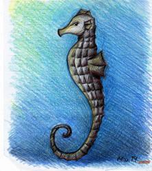 Seahorse 2 by Shyrenn