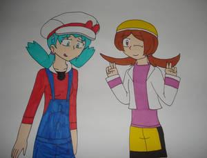 Kris and Lyra Clothes Swap