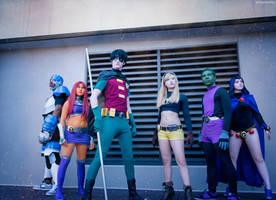 The Teen Titans by TitanesqueCosplay