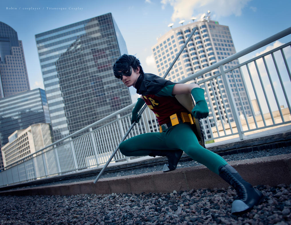 Teen Titans Robin by TitanesqueCosplay
