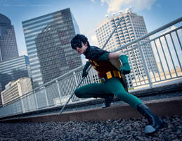 Teen Titans Robin by TitanesqueCosplay