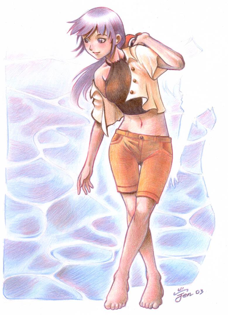 girl03 by Agustinus