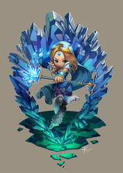 Rylai Crystal Maiden by Agustinus