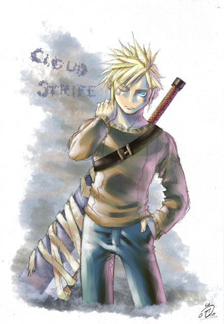 Final Fantasy VII by Agustinus