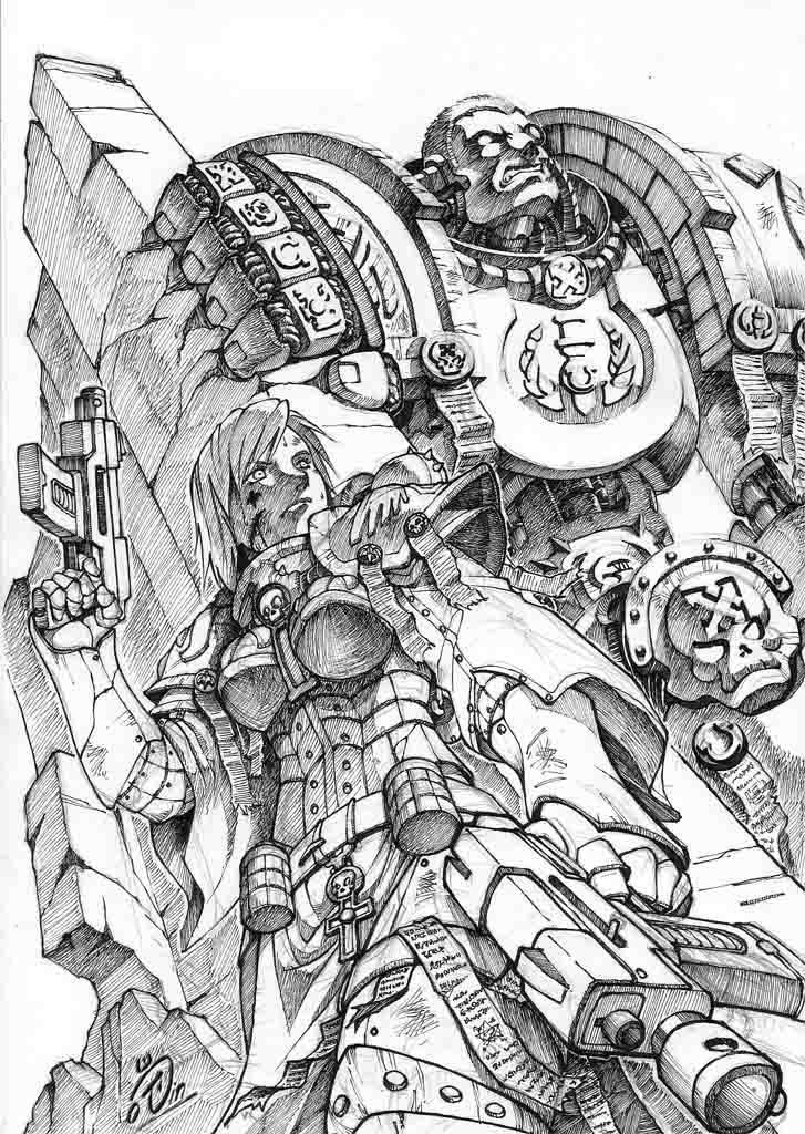 Warhammer by Agustinus