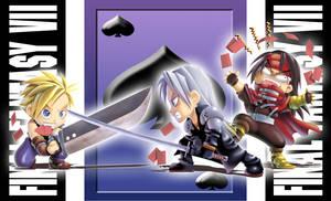 Trio_FFVII_playing_card