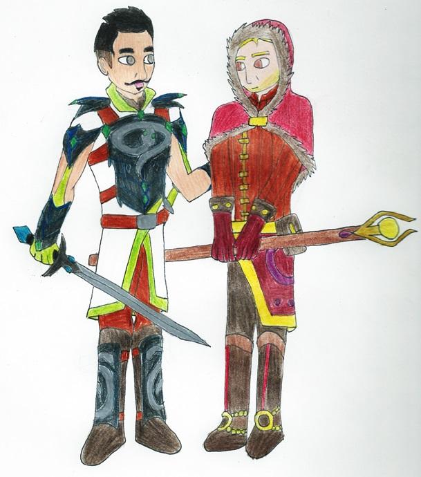 Cullen and Dorian Roleswap AU by Kereea